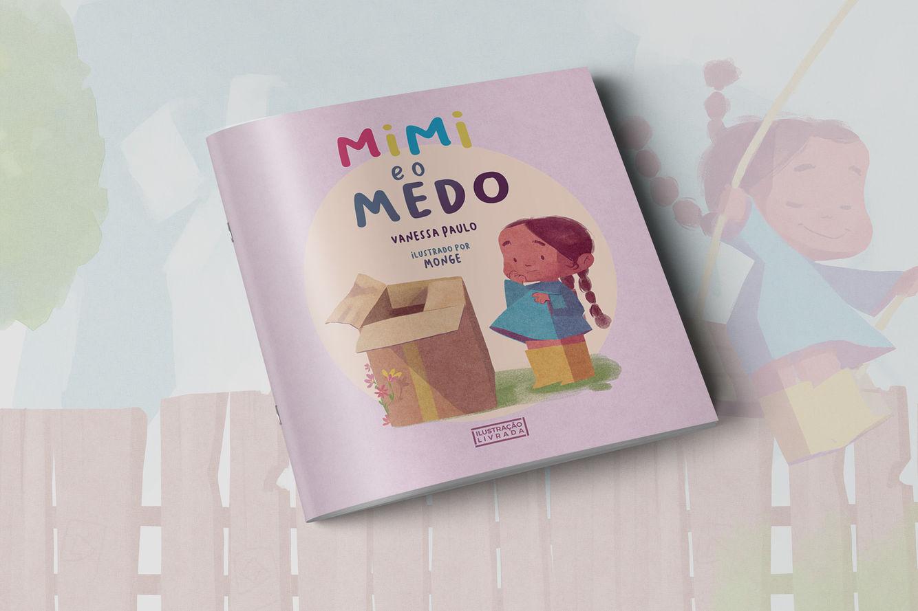 Vanessa Paulo faz livro infantil para falar de medo