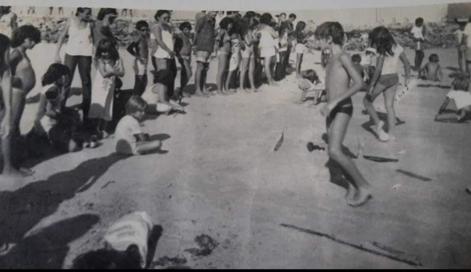 Dia que Redinha teve concurso de esculturas de areia