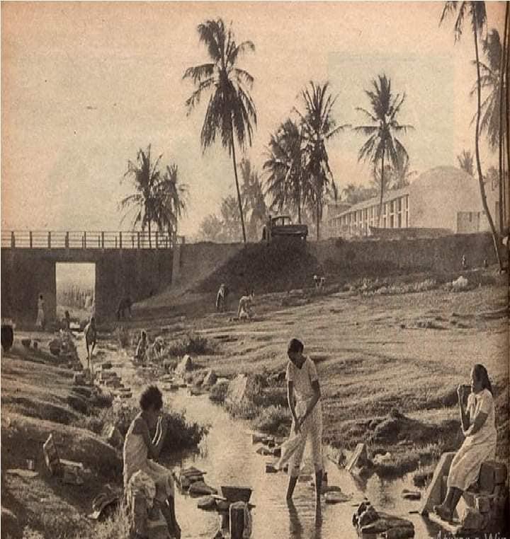 Uma foto do Riacho das Quintas no século 20
